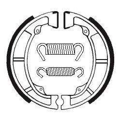Machoires de frein TECNIUM BA039 organique