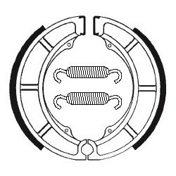 Machoires de frein TECNIUM BA052 organique