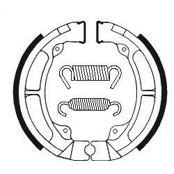 Machoires de frein TECNIUM BA056 organique