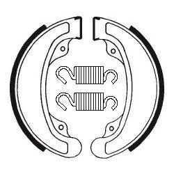 Machoires de frein TECNIUM BA058 organique