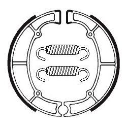 Machoires de frein TECNIUM BA060 organique