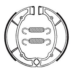 Machoires de frein TECNIUM BA063 organique