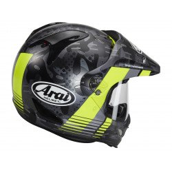 Casque ARAI Tour-X4 Cover Fluor Yellow Matt taille L
