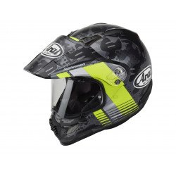 Casque ARAI Tour-X4 Cover Fluor Yellow Matt taille XXL