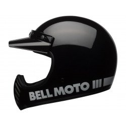 Casque BELL Moto-3 Classic Black taille XXL