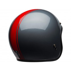 Casque BELL Custom 500 DLX Rally Gloss Gray/Red taille XS