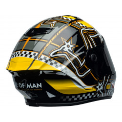 Casque BELL Star DLX Mips Isle of Man 2020 Gloss Black/Yellow taille XL