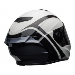 Casque BELL Star DLX Mips Tantrum Matte/Gloss White/Black/Titanium taille XL