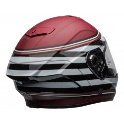 Casque BELL Race Star Flex DLX RSD The Zone Matte/Gloss White/Candy Red taille XL