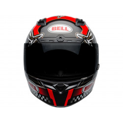 Casque BELL Qualifier DLX Mips Isle of Man 2020 Gloss Red/Black taille XS