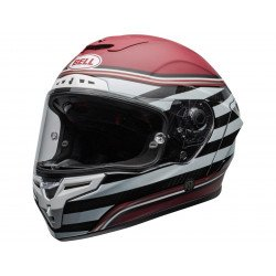 Casque BELL Race Star Flex DLX RSD The Zone Matte/Gloss White/Candy Red taille M