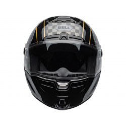 Casque BELL SRT Buster Gloss Black/Yellow/Grey taille XS