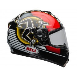 Casque BELL SRT Isle of Man 2020 Gloss Black/Red taille M