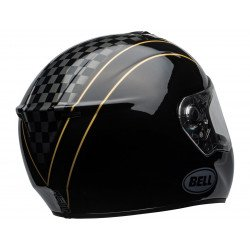 Casque BELL SRT Buster Gloss Black/Yellow/Grey taille M