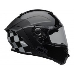 Casque BELL Star DLX Mips Lux Checkers Matte/Gloss Black/White taille L