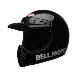 Casque BELL Moto-3 Classic Black taille XL