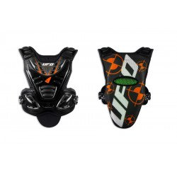 Pare-pierre UFO Valkyrie 2 Evo long noir/orange