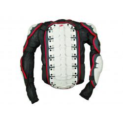 Gilet Integral Polisport blanc/noir/rouge taille L
