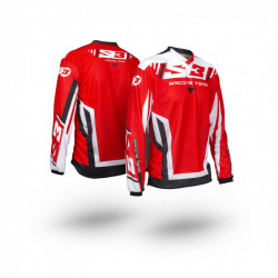 Maillot S3 Racing Team enfant rouge/noir taille YM
