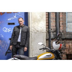 Blouson RST IOM TT Crosby textile charcoal taille 3XL homme
