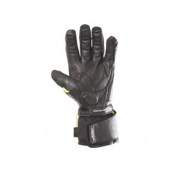 Gants RST Storm CE Waterproof touring cuir/textile jaune fluo taille M/09 homme