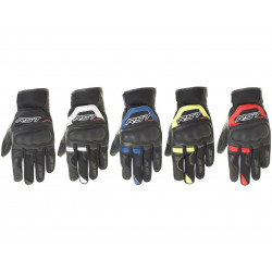 Gants RST Urban Air II CE street cuir/textile rouge taille M/09 homme