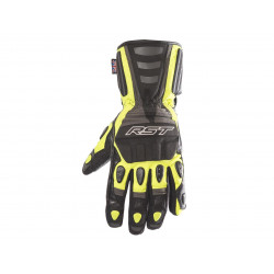 Gants RST Storm CE Waterproof touring cuir/textile jaune fluo taille S/08 homme