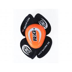 Sliders genou R&G RACING Aero orange