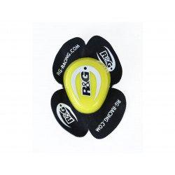 Sliders genou R&G RACING Aero jaune