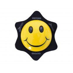 Sliders de genoux OXFORD Smiley jaune