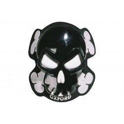 Sliders de genou OXFORD Skull noir
