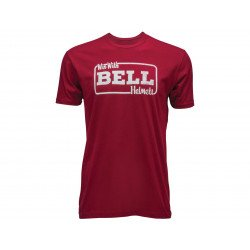T-Shirt BELL Win With Bell rouge taille L