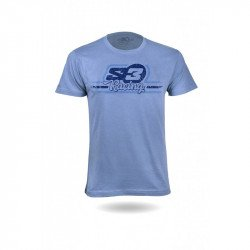 T-Shirt S3 Casual Racing bleu taille M