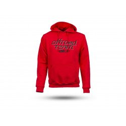 Sweatshirt S3 Off-Road rouge taille XS