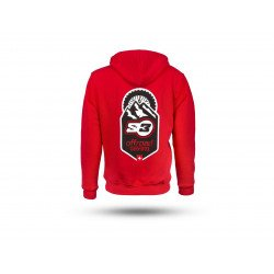 Sweatshirt S3 Off-Road rouge taille M