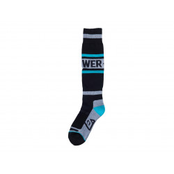 Chaussettes ANSWER Riding Socks fine Astana/noir taille L/XL