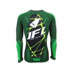 Sous-vêtement UFO Atrax avec protection dorsale vert taille L/XL