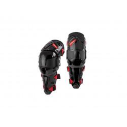 Genouillères Polisport Prime noir/rouge taille S/M