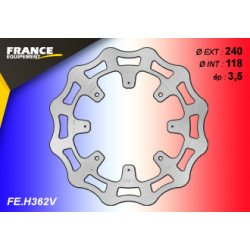 *Disque de frein FE.H362V (inclus 5 trous pour fixation Abs)