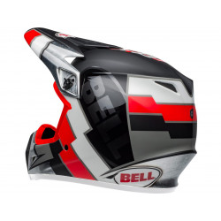 Casque BELL MX-9 Mips Twitch Replica Matte Black/Red/White taille XL