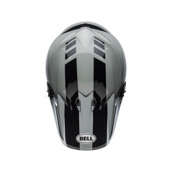 Casque BELL MX-9 Mips Dash Gray/Black/White taille XL