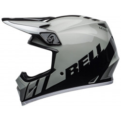 Casque BELL MX-9 Mips Dash Gray/Black/White taille L