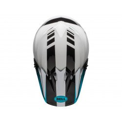 Casque BELL MX-9 Mips Dash White/Blue taille S