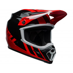 Casque BELL MX-9 Mips Dash Black/Red taille XL