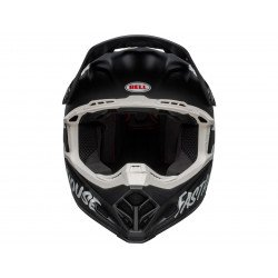 Casque BELL Moto-9 Mips Fasthouse Signia Matte Black/Chrome taille XL