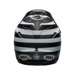Casque BELL Moto-9 Mips Fasthouse Signia Matte Black/Chrome taille M