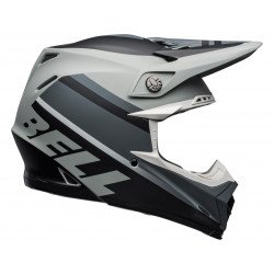 Casque BELL Moto-9 Mips Prophecy Matte Gray/Black/White taille M