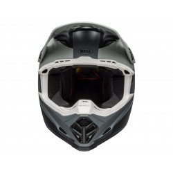 Casque BELL Moto-9 Mips Prophecy Matte Gray/Black/White taille L