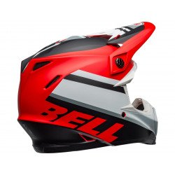Casque BELL Moto-9 Mips Prophecy Matte White/Red/Black taille M
