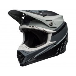 Casque BELL Moto-9 Mips Prophecy Matte Gray/Black/White taille XL